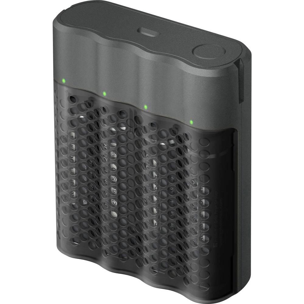 GP Batteries GPP461/210AAHCB-2B4 Batteriladdare inkl. batteri NiMH AAA (R03), AA (R6)