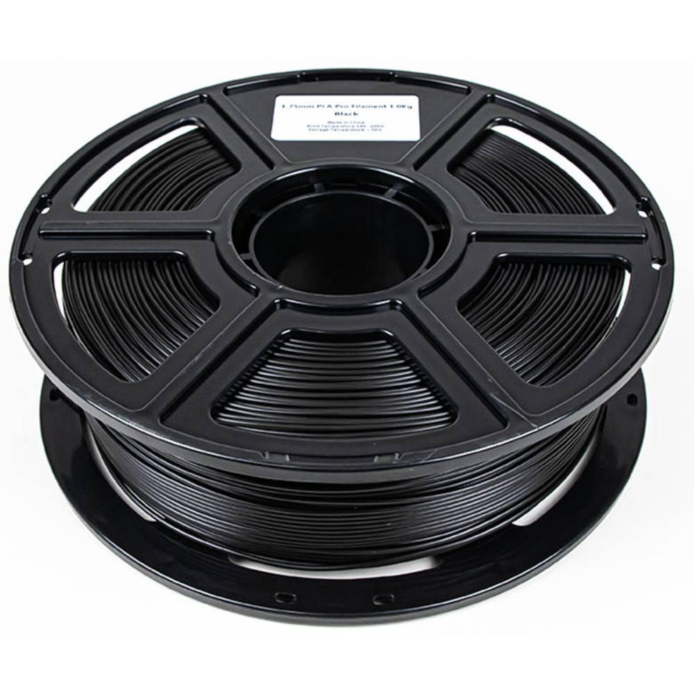 Maertz 8003 Budget PLA Pro SW 1,75 mm 1 KG 3D-skrivare Filament PLA-plast 1.75 mm 1000 g Svart 1000 g