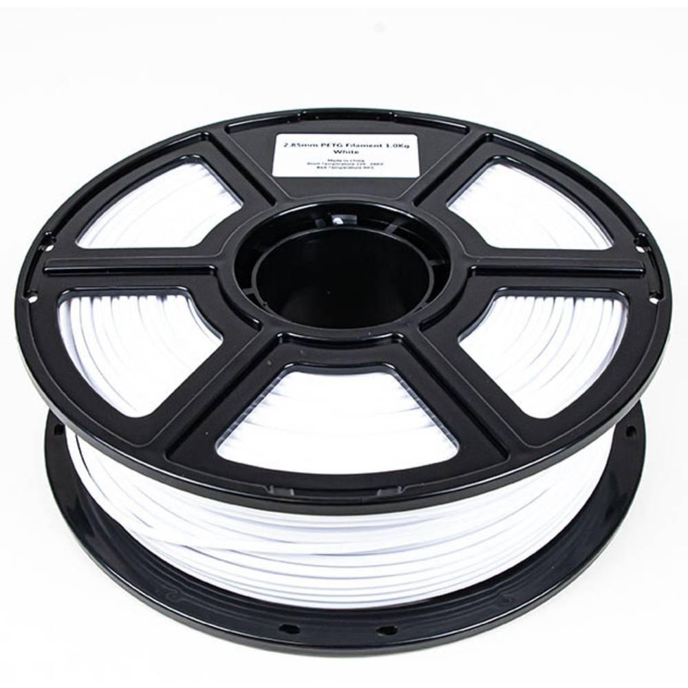 Maertz 8083 Budget PETG Weiß 1,75 mm 1 KG 3D-skrivare Filament PETG 1.75 mm 1000 g Vit 1000 g