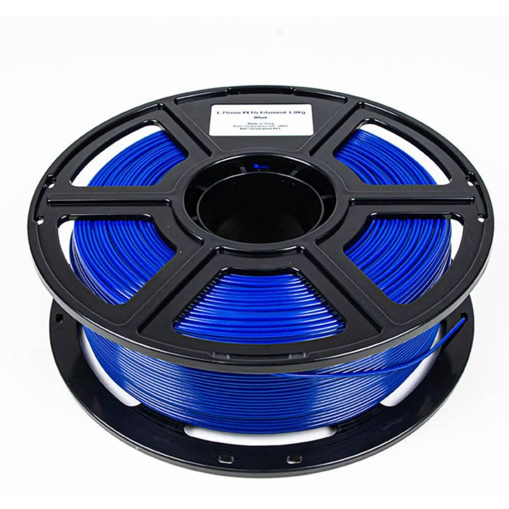 Maertz 8084 Budget PETG Blau 1,75 mm 1 KG 3D-skrivare Filament PETG 1.75 mm 1000 g Blå 1000 g