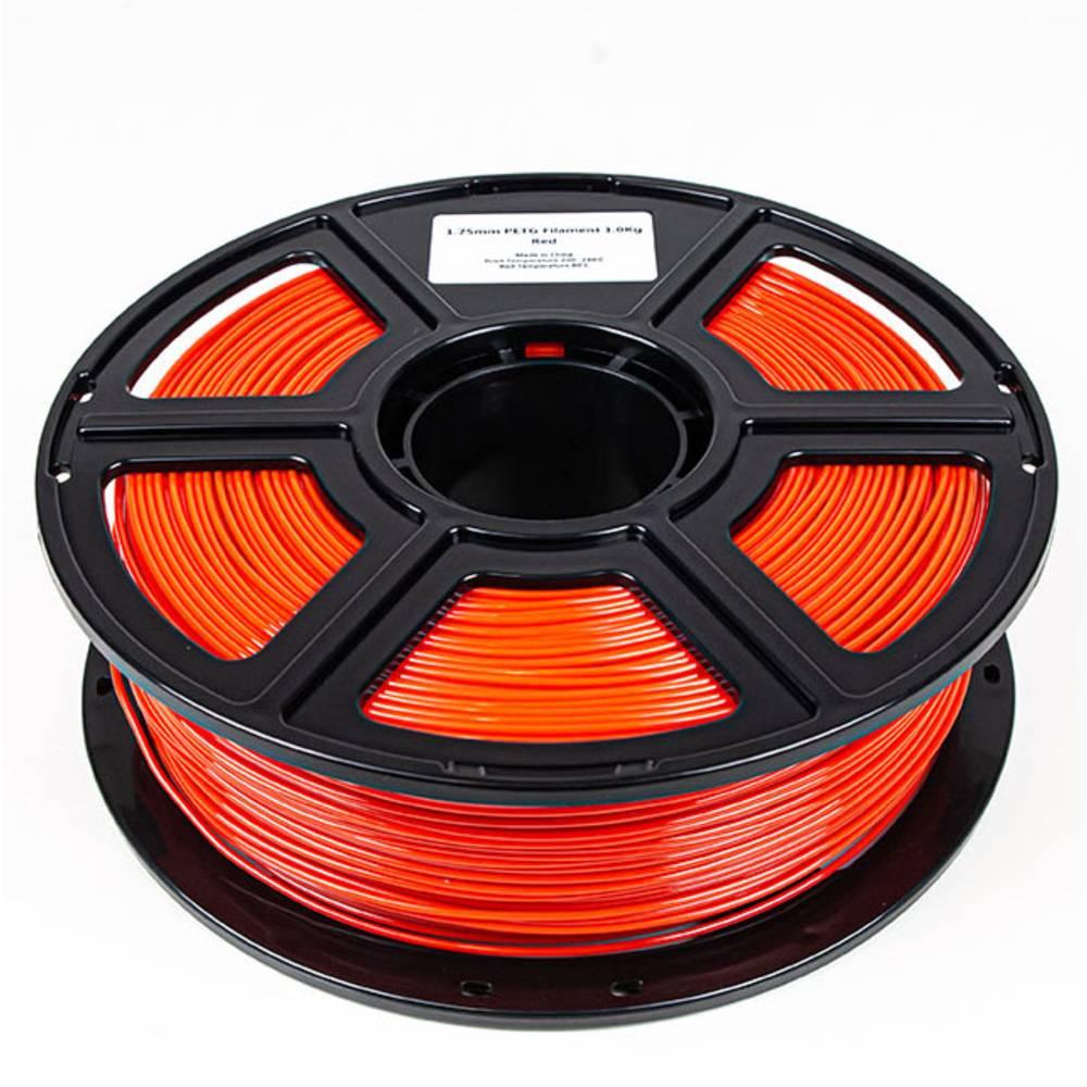Maertz 8085 Budget PETG RT 1,75 mm 1 KG 3D-skrivare Filament PETG 1.75 mm 1000 g Röd 1000 g