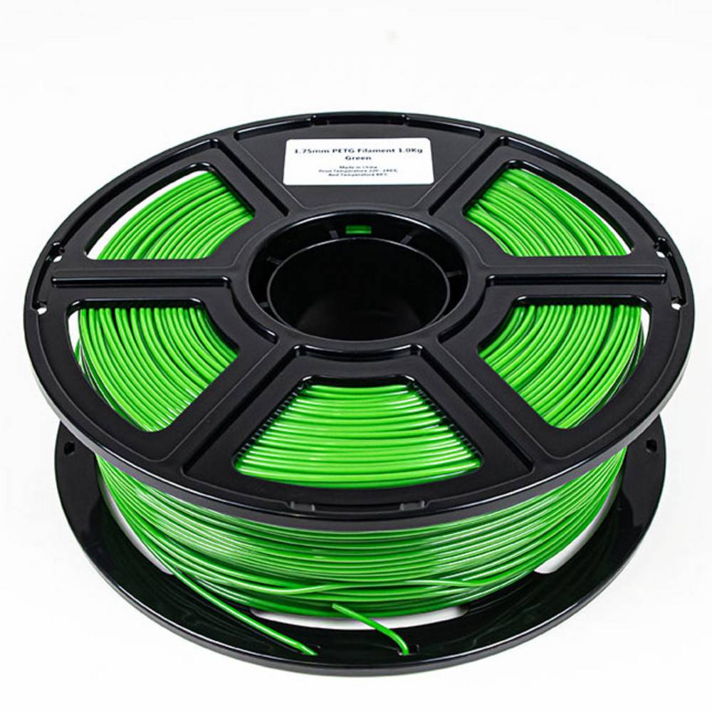Maertz 8086 Budget PETG Grün 1,75 mm 1 KG 3D-skrivare Filament PETG 1.75 mm 1000 g Grön 1000 g