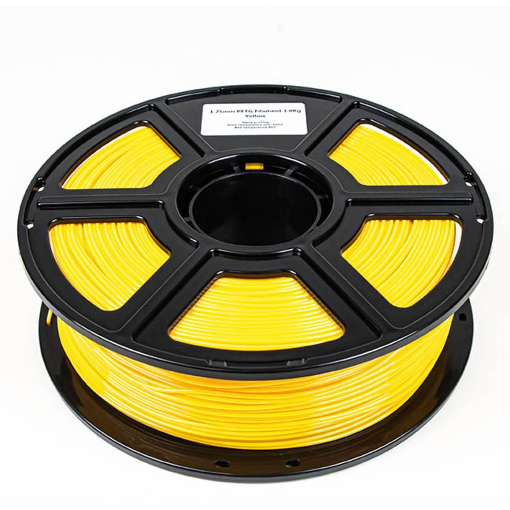 Maertz 8087 Budget PETG Gelb 1,75 mm 1 KG 3D-skrivare Filament PETG 1.75 mm 1000 g Gul 1000 g