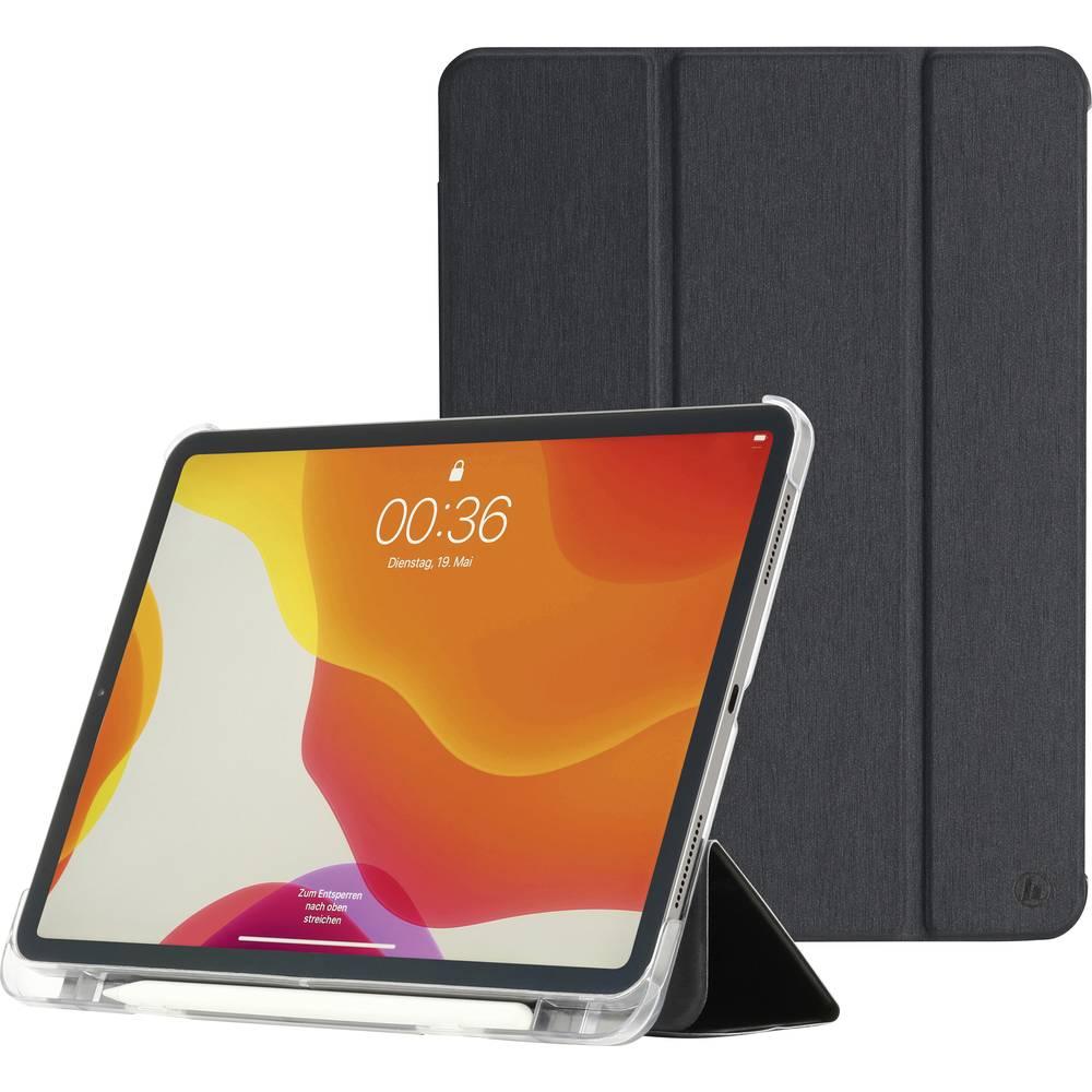 Hama Fold Clear BookCase Passar till Apple: iPad Pro 12.9 (5:e generationen), iPad Pro 12.9 (4:de generation), iPad Pro Svart, Transparent