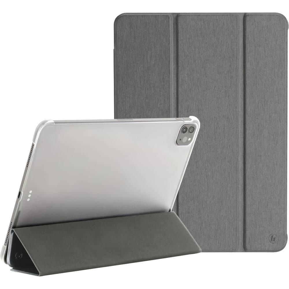Hama Fold Clear BookCase Passar till Apple: iPad Pro 12.9 (5:e generationen), iPad Pro 12.9 (4:de generation), iPad Pro Grå
