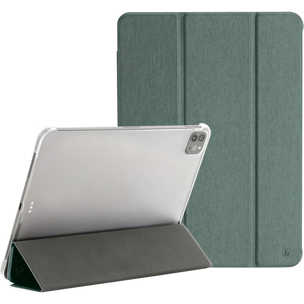 Hama Fold Clear BookCase Passar till Apple: iPad Pro 11, iPad Pro 11 (2:a generation), iPad Pro 11 (3:e generationen) Grön