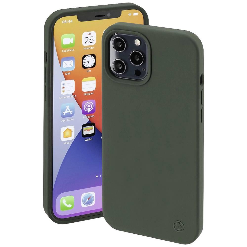 Hama MagCase Finest Feel PRO Cover Apple iPhone 12, iPhone 12 Pro Grön