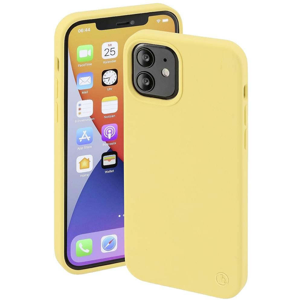 Hama MagCase Finest Feel PRO Cover Apple iPhone 12, iPhone 12 Pro Gul