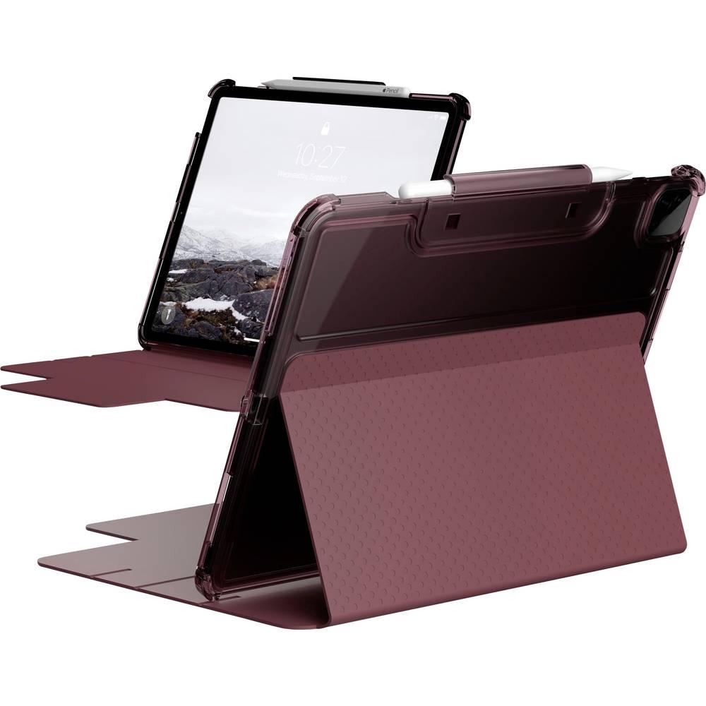Urban Armor Gear Lucent BookCase Passar till Apple: iPad Pro 12.9 (4:de generation), iPad Pro 12.9 (5:e generationen) Ganmmalrosa, Transparent