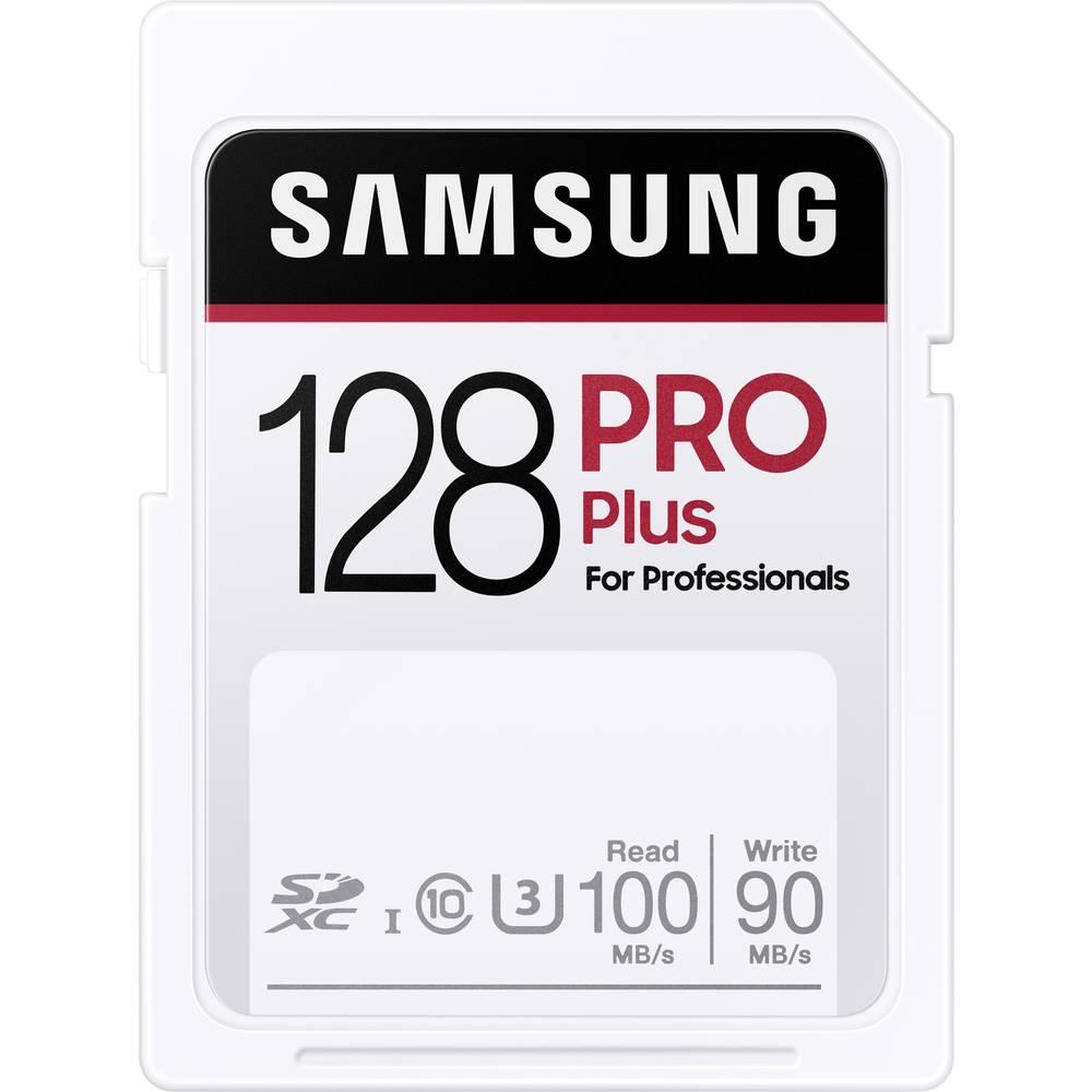 Samsung Pro Plus SDXC-Kort 128 GB UHS-I Vattentät, stötsäker