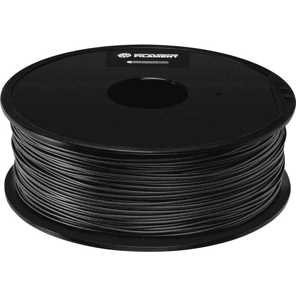 Monoprice 114388 Premium 3D-skrivare Filament PETG 1.75 mm 1000 g Svart 1 st
