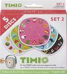 TIMIO Disc-set 2 uitbreidingsset met 5 magnetische audiodiscs