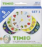 TIMIO Disc-set 3 uitbreidingsset met 5 magnetische audiodiscs