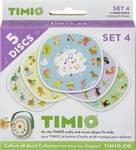 TIMIO Disc-set 4 uitbreidingsset met 5 magnetische audiodiscs