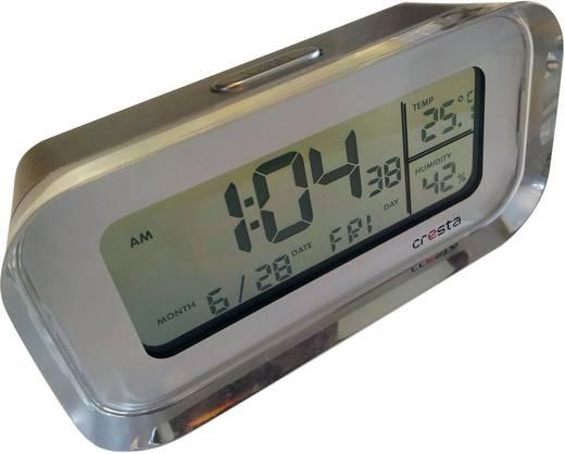 Wekker Zendergestuurd Zilver Cresta WI-680T