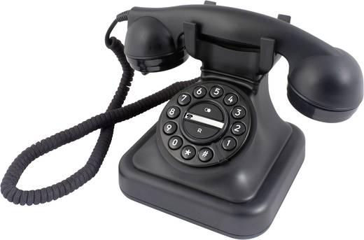 Profoon D-Sign Graham Bedrade analoge telefoon Zwart
