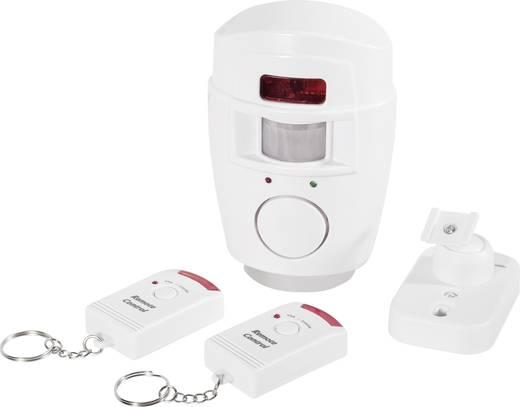 PIR sensor alarm met 2 afstandsbedieningen