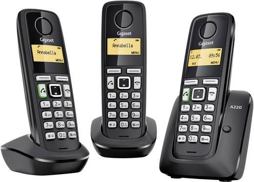 Gigaset A220A Trio DECT telefoon met Antwoordapparaat, Handsfree functie