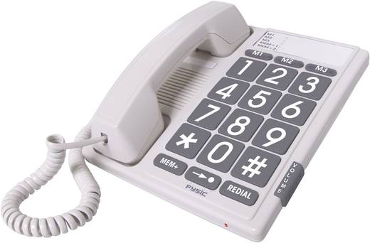 Fysic FX-3100 Bedrade seniorentelefoon Wit