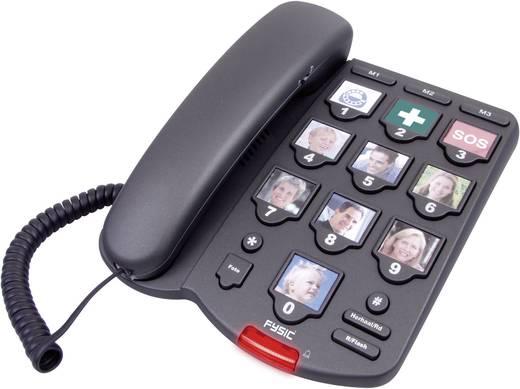 Fysic snoergebonden telefoon met grote (foto)toetsen FX-3200
