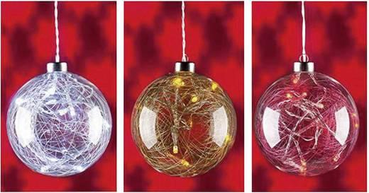 Christmas Gifts 51115 Raamdecoratie Bollen LED Blauw, Geel, Rood