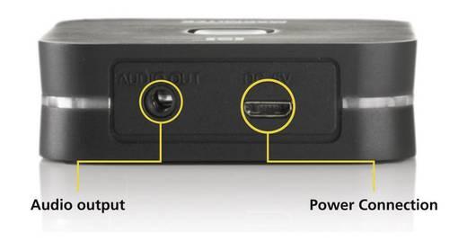 Marmitek Bluetooth muziekontvanger BoomBoom 80 Bluetooth versie: 3.0, A2DP 15 m Ondersteunt NFC