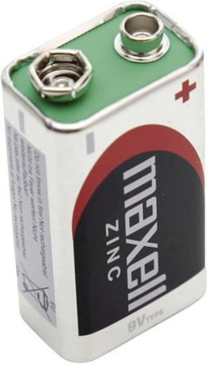 9V batterij (blok) Maxell Super Ace R22 (bulk) Zink-kool 5 stuks