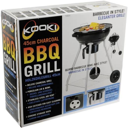 Kooki Houtskool Barbecue Suburban 18 Grilloppervlak (diameter): 450 mm Zwart
