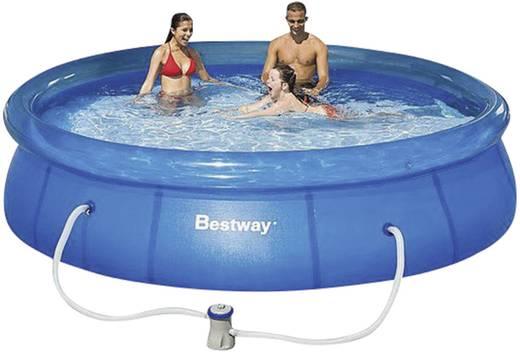 Bestway Easy zwembad (opblaasring) (Ø x h) 366 cm x 76 cm incl. filterpomp