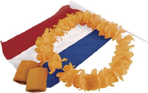 Koningsdag oranje feestset