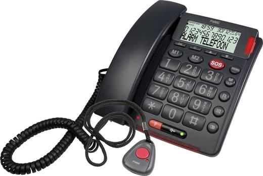 Fysic FX-3850 Bedrade seniorentelefoon Zwart