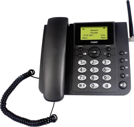 Fysic FM-2900 bureau GSM telefoon Zwart