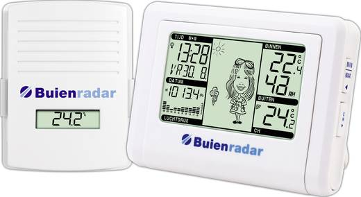 Digitaal draadloos weerstation Buienradar BR-800