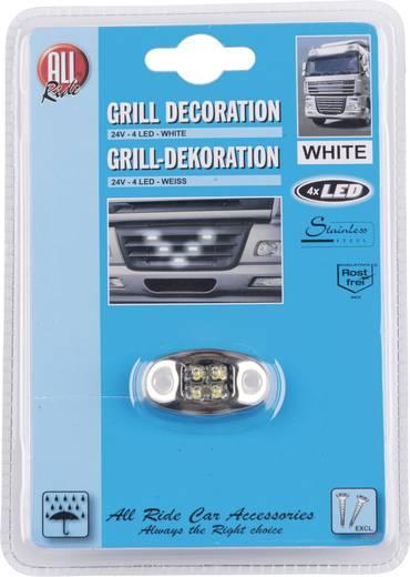 AllRide Grillverlichting 24 V, 4 witte LED's