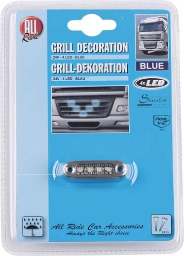AllRide Grillverlichting 24 V, 4 blauwe LED's
