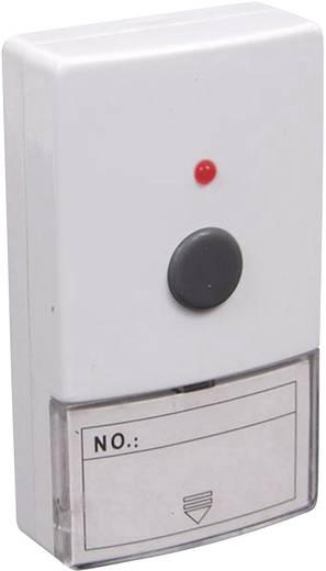Draadloze deurbel Complete set met naambord Alecto ADB-12 ADB-12