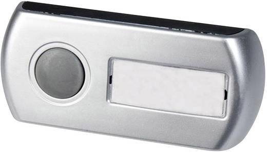 Draadloze deurbel Complete set met flitslicht, met naambord Alecto ADB-17