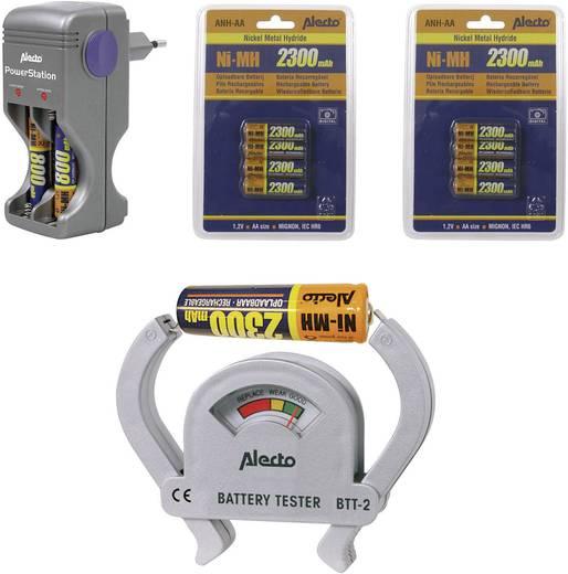 Batterijlader AA (penlite), AAA (potlood) - Alecto BL-124 + 2x ANH-AA + BTT-2 4x AAA, 8x AA