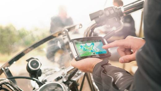 TomTom Rider 40 EU 23 Navigatiesysteem voor motorfietsen 11 cm 4.3 inch Europa