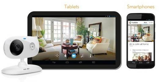 WiFi IP-camera Motorola FOCUS 66 Geschikt voor App: Ja 1280 x 720 pix