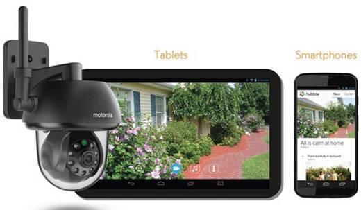 WiFi, LAN IP-camera Motorola Focus 73 Geschikt voor App: Ja 1280 x 720 pix