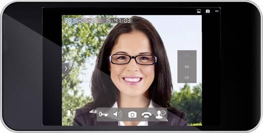 ELEC IP Doorcam Buitenunit voor WiFi deurbel met video WiFi, LAN, Kabelgebonden, Draadloos 1 gezinswoning Zilver