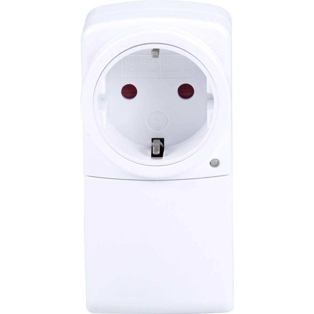 Alecto EUP-USB10 Eco USB Netadaptor Oplader met Doorvoer Smartphone MP3