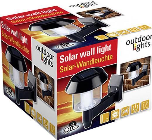 Outdoor Lights Solar wandlamp Zwart