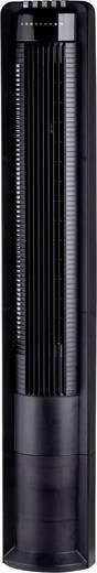 Torenventilator met afstandsbediening, timer, oscillerend Zwart