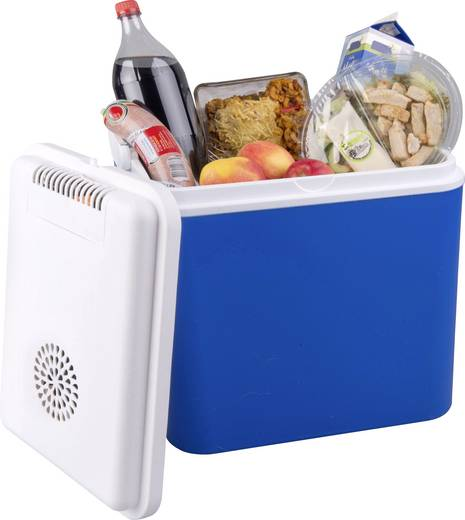 Koelbox 24 V Blauw, Wit 30 l Energielabel: A+