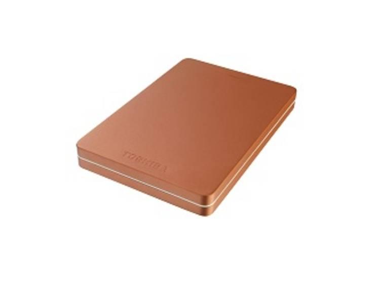 Toshiba Canvio Alu 3S 500 GB Externe harde schijf (2.5 inch) USB-A Rood