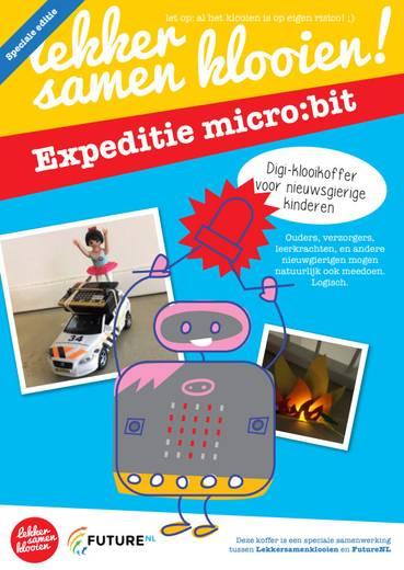 Klooikoffer #7 Expeditie micro:bit - Vanaf groep 6
