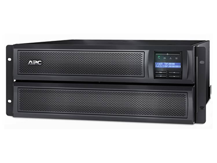 APC Smart-UPS X 2200VA noodstroomvoeding 8x C13, 2x C19 uitgang, USB, short depth