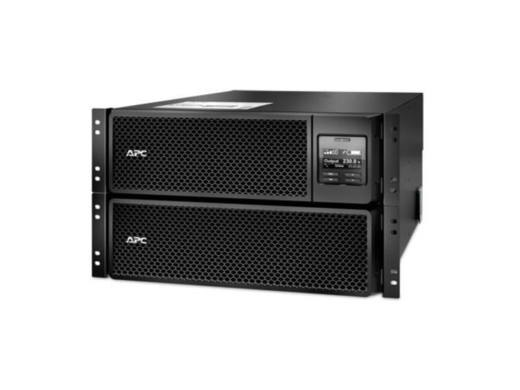 APC Smart-UPS On-Line 8000VA noodstroomvoeding 6x C13, 4x C19, hardwire 1 fase uitgang, rackmountable, Embedded NMC